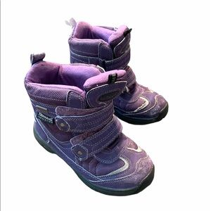 Favaretti Waterproof Snow Boots Thinsulate Purple
